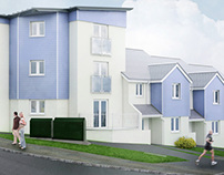 Percy Street, Plymouth - Modelling and visualisation