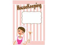 """Afiche para Housekeeping """"servicio de limpieza"""""""