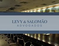 Site institucional Levy & Salomão
