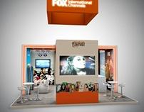 Stand Design 6x6 Fox Intenational Channels-Canitec 2013