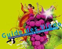 Projet de couvertures pour le Guide des Vignobles 2014