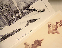Trabajos de dibujo  sobre la civitas de Oiasso -Irun