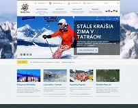 Web design and development Region Vysoke Tatry