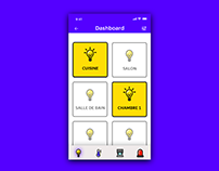 Daily UI #021 — Home Monitoring Dashboard