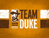 John Wayne Cancer Foundation - Team Duke