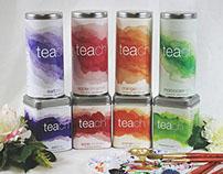 Teach Tea | Branding & Packaging