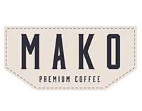 Mako Coffee branding and packaging