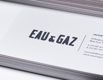 Eau & Gaz Branding