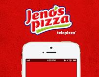 Jenos Pizza App