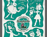 Bonduelle. Poster