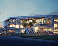 QM Mall   Design & Visualizations.