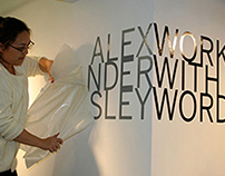 Alexander Isley: Working with Words (Exhibit)