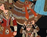 Qajar women Dance
