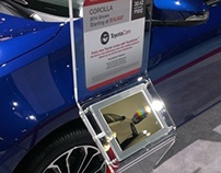 Toyota iPad Wheelstands - 2014