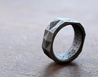 Anel Facetado / Faceted Ring