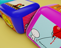 RTL 2 Inflate Toy Cubes