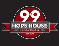 Hops House Branding & Creative