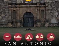 San Antonio Historical Poster