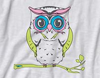 Olive & Bette's Owl Tee