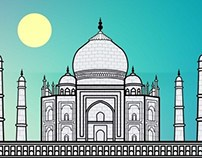 TAJ MAHAL - A Wonder Made by a Lover