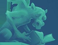 Banner for The Book Gargoyle blog