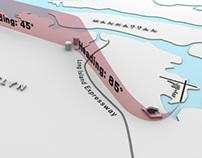 KLGA Expressway Visual landing pattern