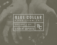 Blue Collar Icon Set