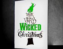 WICKED Holiday Card