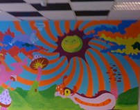 Student Lounge Mural