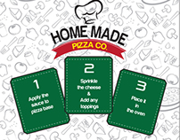 Home Made pizza co Packaging