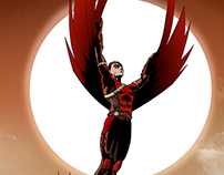 Red Robin Cover (colors)
