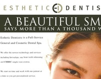 Esthetic Dentistry 1/4 Page LA Weekly Ad