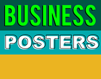 Business Posters for PosterGully