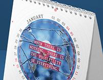 Desk Calendar-4 2014 Circle