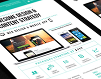 Digital (Web/Mobile) Design Services Flyer