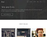 Evol WordPress Theme