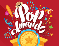 Pop Awards - Christmas party thematic