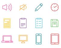 100 UI/UX Thinicon Icons