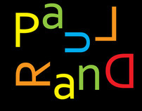 Paul Rand: type talks