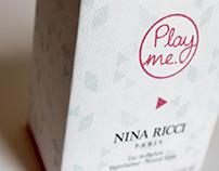 Packaging Parfum NINA RICCI
