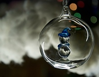 Dazzling Christmas ornaments by Studio Avtar