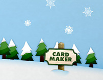 Fox Holiday Card Maker- Dec 2012