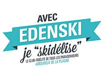 EDENSKI | Société d'aménagement de la Plagne