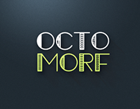 Octomorf Display Font