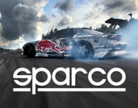Sparco - website restyle