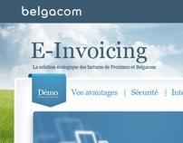Belgacom E-invoicing