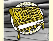 logo for SCREENPRINT studio