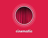 Cinematic Flat UI iOS