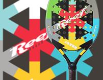 Reef beachtennis racquets and sportswear design