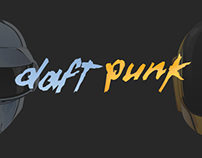 Daft Punk by Vik Kainth